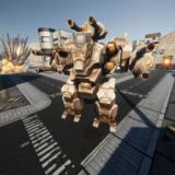 真正的机器人格斗