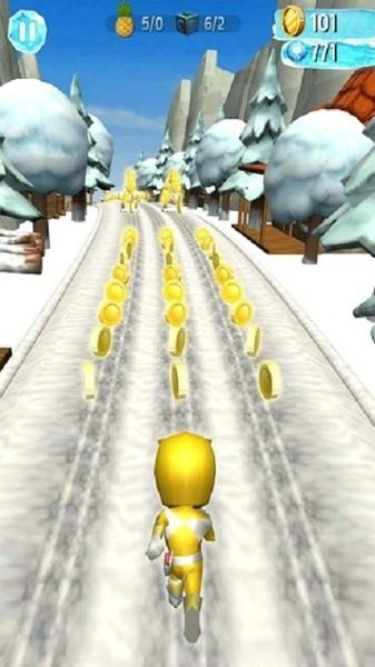 雪地跑酷图2