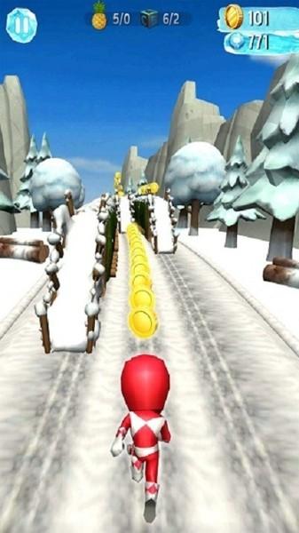 雪地跑酷图1