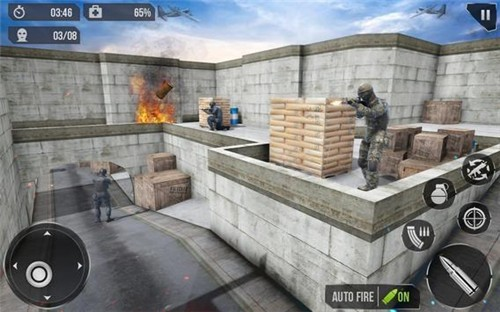 士兵射击任务小队图1