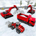 雪地挖掘机模拟器