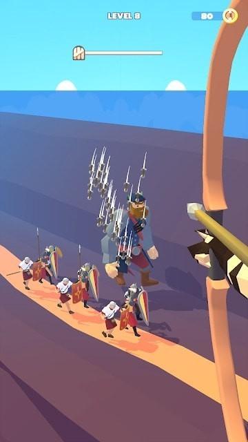 塔楼弓箭手单机版图1