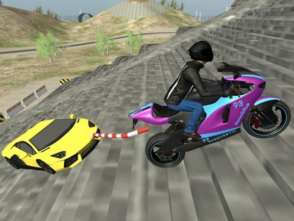 链式摩托车新种族单机版图2