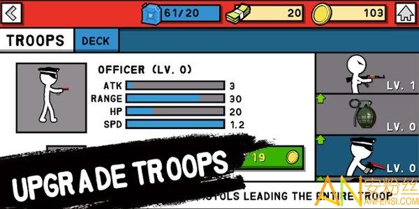 火柴人军队世界大战单机版图1