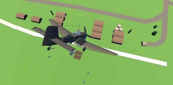 飞行射击战争模拟单机版图2