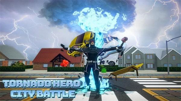 黑洞龙卷风超级英雄单机版图3