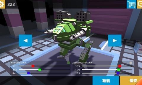 像素机器人战场单机版图3