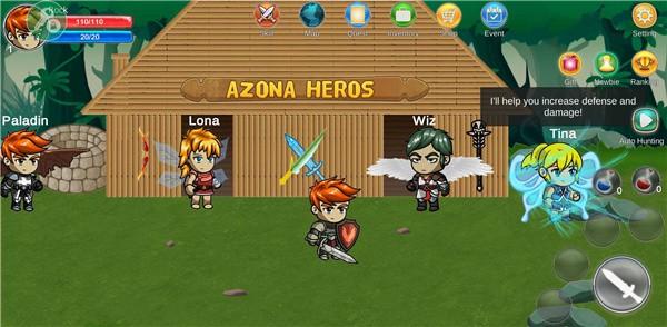 传奇英雄世界单机版图4