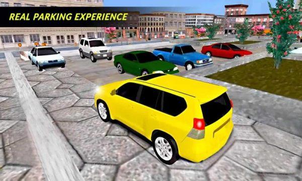 普拉多吉普停车场3D单机版图1