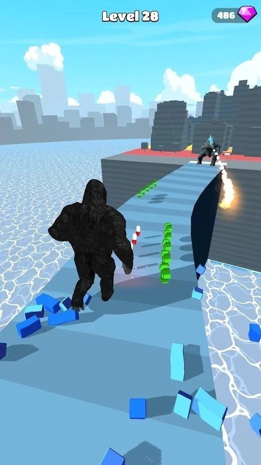 怪兽跑酷kaiju run单机版图2