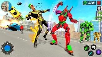 机器人VS超级英雄格斗单机版图1