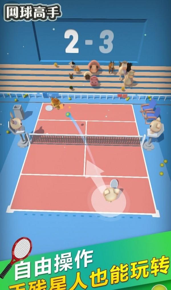 网球高手单机版图1