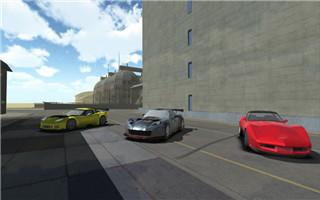 跑车城市特技单机版图1