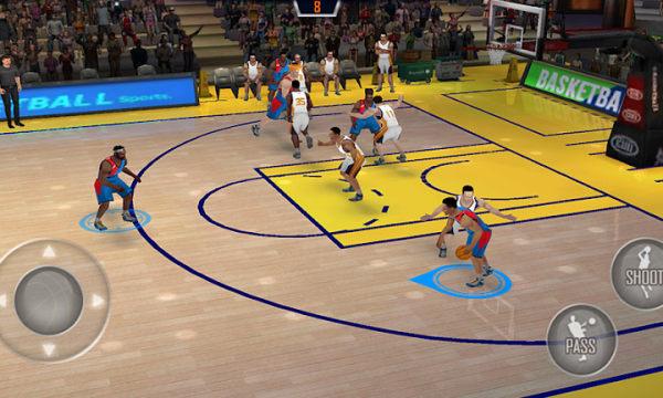 美国篮球季后赛单机版图2