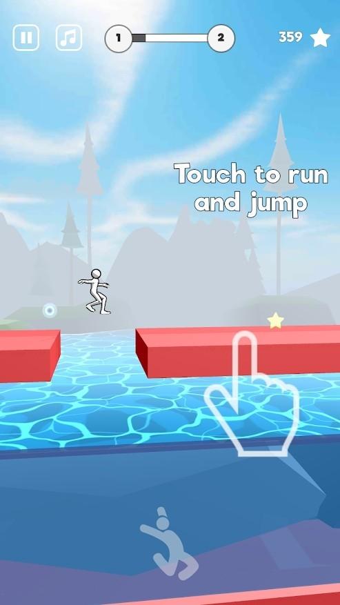 疯狂特技跳跃单机版图1