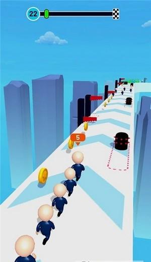 逃离我们群众赛跑单机版图4