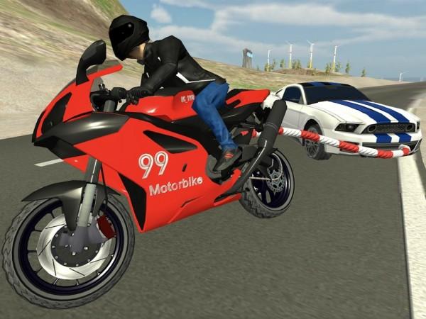 链式摩托车新种族单机版图1
