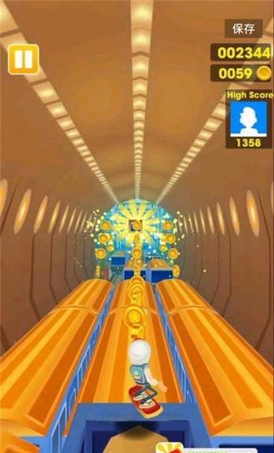 超级地铁跑酷单机版图2