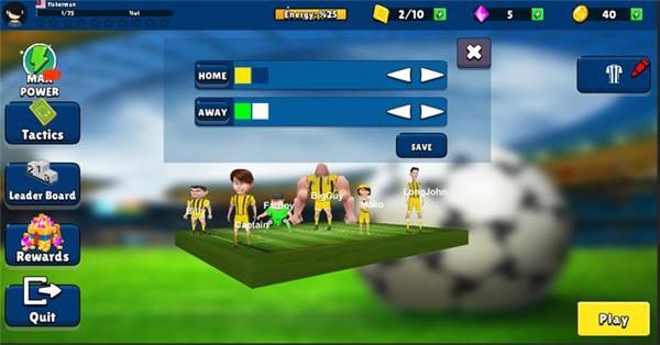 手指足球联盟游戏单机版图2