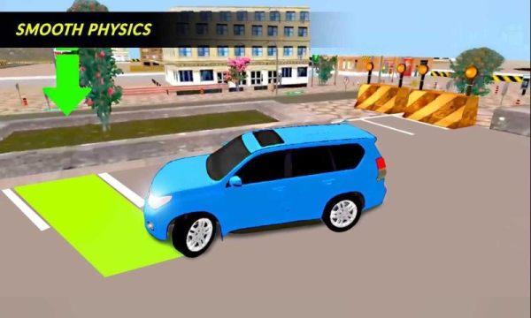 普拉多吉普停车场3D单机版图2