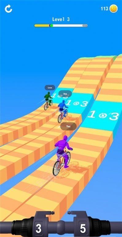 变速自行车竞速赛单机版图1