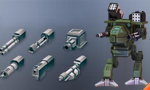 像素机器人战场图2