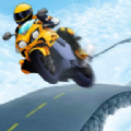 摩托车特技跳跃