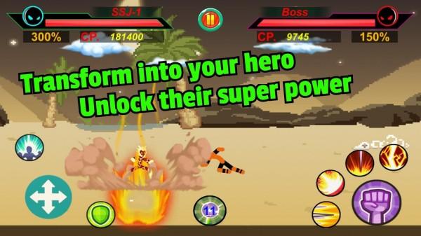 超级战士对决单机版图3