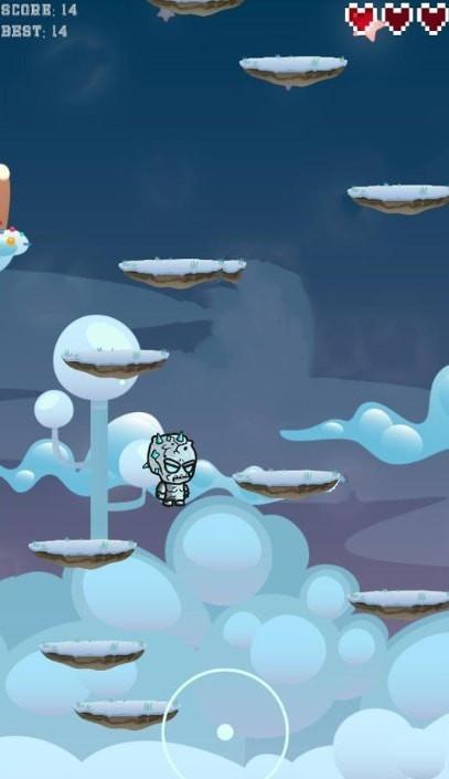 冰人跳跃单机版图1