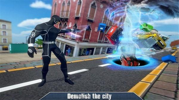 黑洞龙卷风超级英雄单机版图4