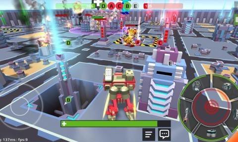 像素机器人战场单机版图1