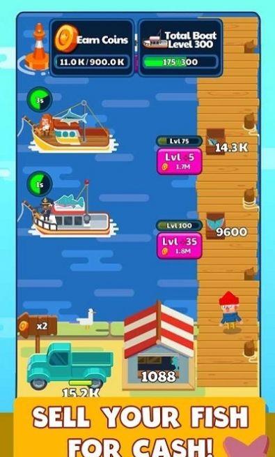 闲置钓鱼故事单机版图2