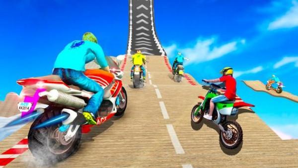 摩托车特技跳跃图3