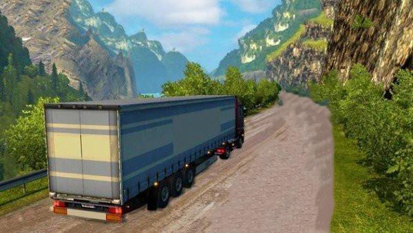 卡车司机模拟驾驶2021单机版图1