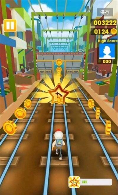 超级地铁跑酷单机版图1