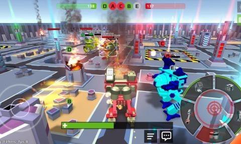 像素机器人战场单机版图2