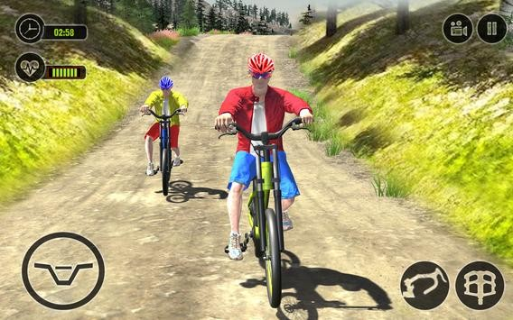 越野单车竞技单机版