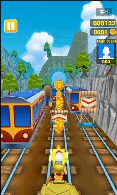 超级地铁跑酷单机版图3