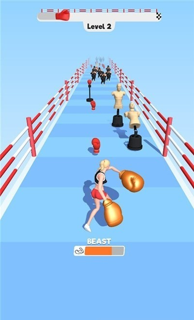 拳击女3D图3