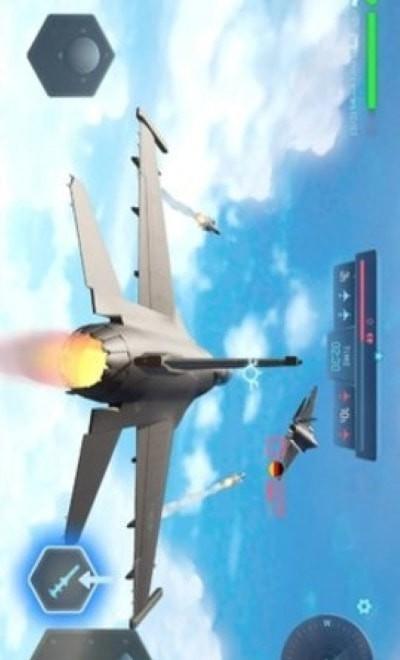 天空勇士炽热云彩单机版图2