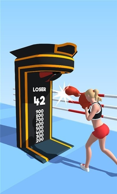 拳击女3D图2