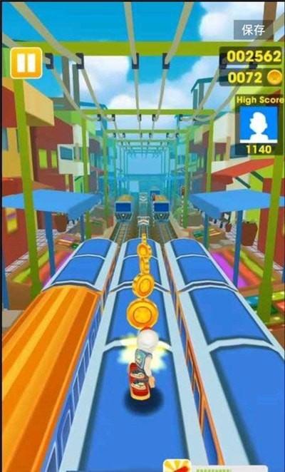 超级地铁跑酷单机版图4