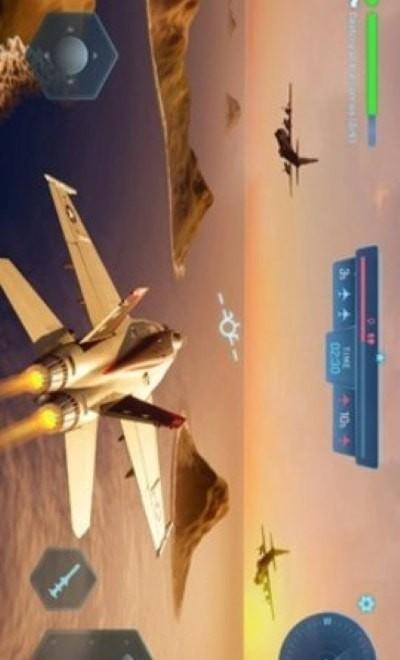 天空勇士炽热云彩单机版图3