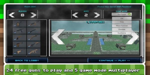 极限疯狂像素战斗单机版图1