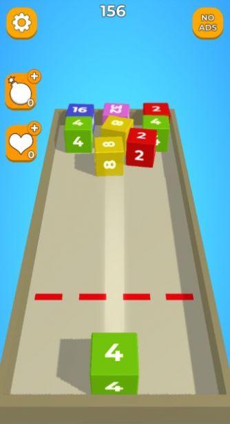2048的方块冲击单机版图1