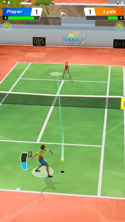 网球碰撞3D单机版图2