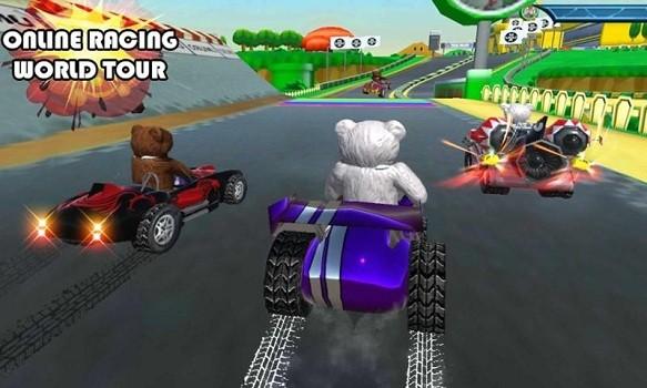 熊熊卡丁车赛单机版图2