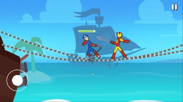 雪人跳跃跑单机版图1