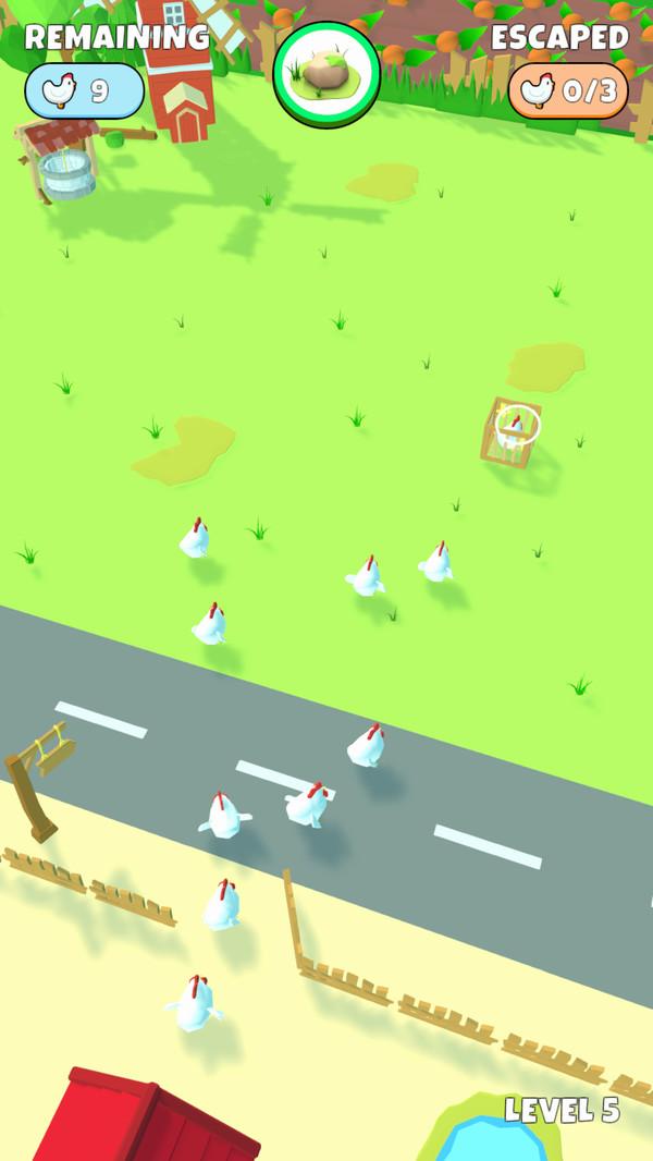 别让鸡跑了单机版图4