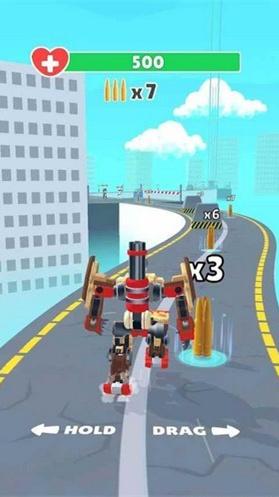机器人跑酷射击图1